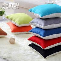 Royal lucky Oxford silk cloth cotton fabric sofa pillow lovers pillow car pillow cushion kaozhen