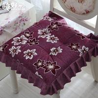 Lucky strike pile cushion chair pad soft cushion winter fabric cushion fat pad thickening chair cushions