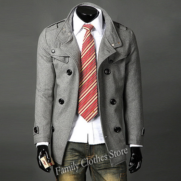 English Men's Designer Clothes Coat Fashion Designer Mens