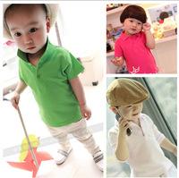Baby girls T-shirts kids children short sleeve t shirt boys tee shirts 0122 sylvia 1257034417