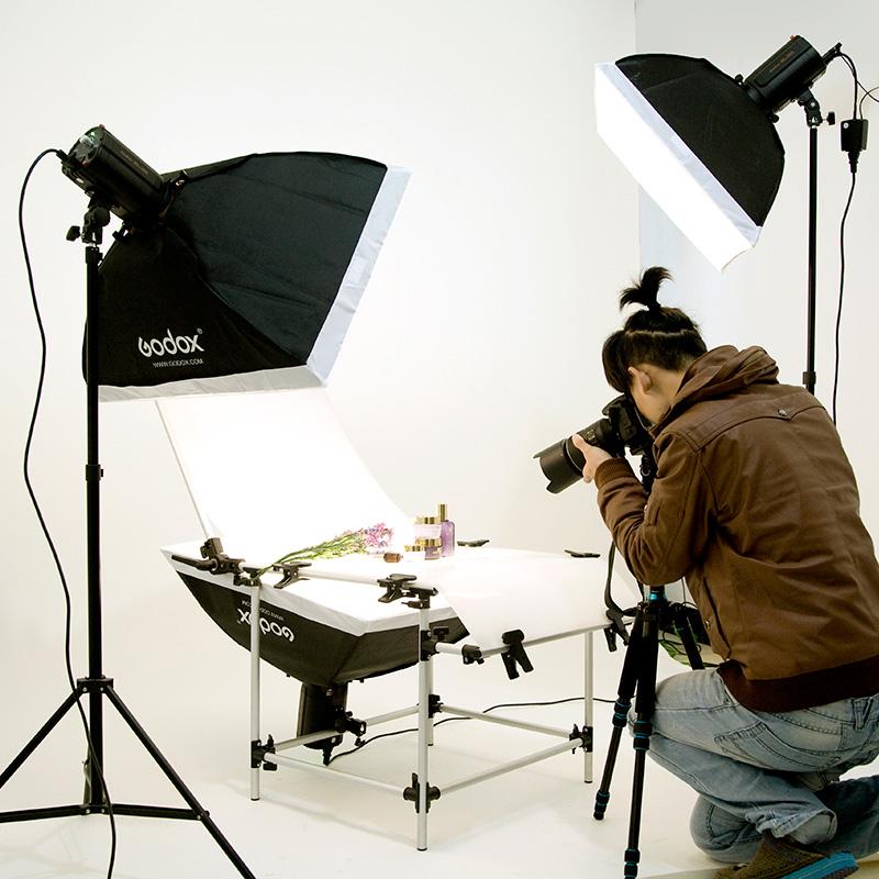 godox studio flash set softbox photography light studier set shooting station lamp photographic equipment(China (Mainland))