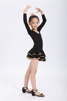 Child Latin dance female child Latin leotard dance dress 2013 Latin dance clothes