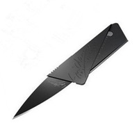 Credit card folding knife business card knife portable