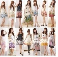 2014 summer wear han edition dress Bohemia floral dress