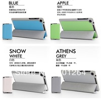 """Wholesale 400pcs/lot smart triangle leather cover case for new Google 7"""" 2nd free shipping"""