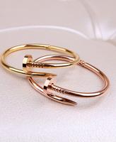Cart card r rivets bracelet lovers bracelet gold platinum rose gold bracelet