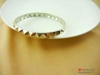 Noir fashion platinum color unique bracelet 2