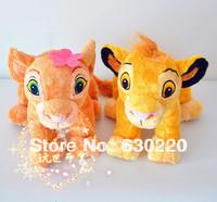 Free shipping Cartoons stuffed Dolls Lion King Plush 2pcs/lot Simba Nana Toy 25*31cm Cute children favorite Toys