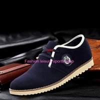 2014 New Fashion Casual Leather driving shoes, walking shoes Men shoes casual Men's Sneakers Free shipping