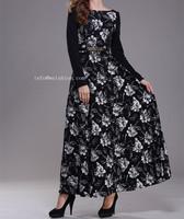 STOCK    Hot sale Islamic Turkish style women's abaya