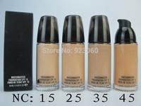 Free HK Post ~3 Pcs Brand Makeup Top Quality long-lasting Liquid Foundation Cream,Matchmaster Foundation SPF 15,Famous Brand