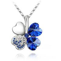 2014 new Necklace pendant crystal jewelry women  popular Korean fashion jewelry wholesale