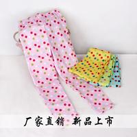 2014  New  Kids/ Children/Girl Spring Cotton Dot Legging Pants Trousers, 1635,1 lot=5 sizes each color