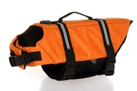 FREE SHIPPING Dog Life Jacket Dog Life Vest Pet Life Jacket Pet Life Vest Retail ORANGE