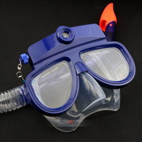 Liquid Image Underwater Digital Camera Diving Mask blue/Black