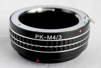Mount Adapter For Pentax K PK Mount Lens to Micro 4/3 M4/3 M43 GX1 EP3 OMD EM5 PK-M43
