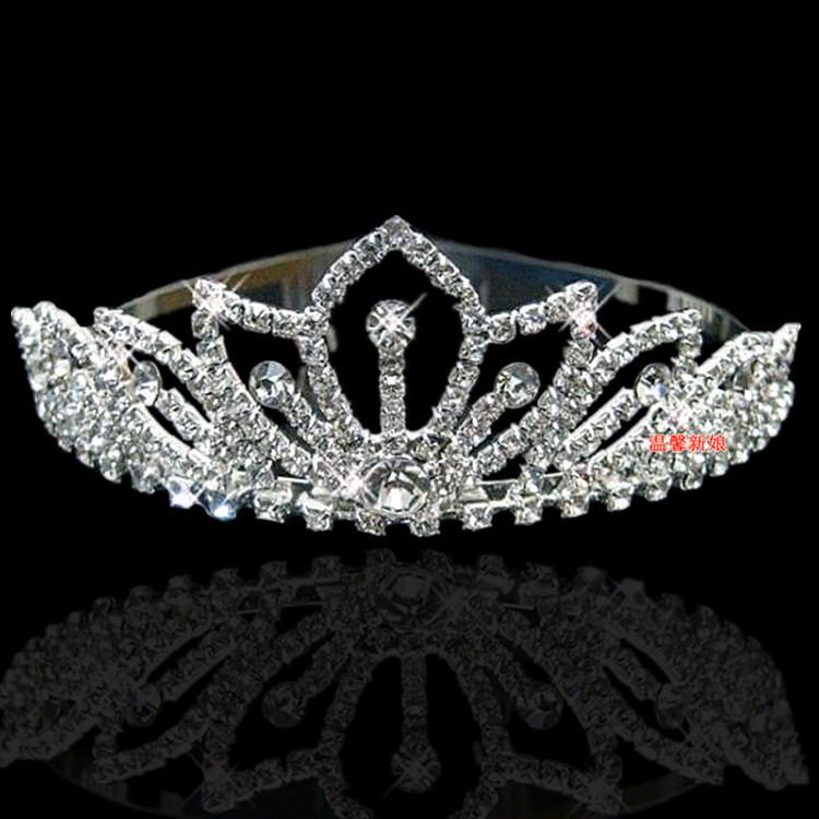 Плата аксессуары горный хрусталь невесты жемчуг большой замуж аксессуары корона аксессуары hg15 аксессуары