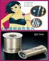 Tpu transparent crystal elastic line diameter - 0.7mm 1000m - ultra elastic eco-friendly beaded elastic line