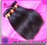Discount off 6a quality cheap brazilian hair 3 pcs lot free shipping double drawn most popular brazilian virgin hair straight