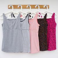 Autumn maternity clothing sleeveless top nursing spaghetti strap nursing clothes month of clothing basic vest all-match