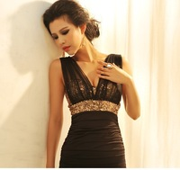 Free shipping 2014 new arrival women dresses tight short mini sequin hot&sexy dress vestidos de fiesta