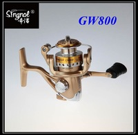 Free shipping 6BB Aluminum Handle Fishing Spinning Reel GW800 OEM Ice Fishing Reel