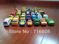 HOT 35pcs/lot Children Pull Back Car Toys Racing Car Baby Police Car Fire Truck Children Mini Car Toys Free Shipping