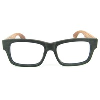 Drab Design Classic Style Hand Made Wooden Glasses High Quality Material Acetate Frame Natural Rosewood Legs With Strong Hinge