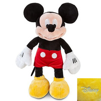 Free Shipping Genuine Mickey Mouse Toys Mickey Mouse Plush 45cm Stuffed Animals Soft Toys Kids Toys For Girls