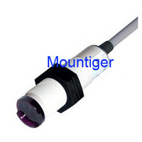 Photoelectric sensor Mountiger plastic housing FM18 diffuse mode switching distance  500 mm PNP-Light NO and Dark ON Cable