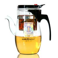 free shipping Kamjove tp-787 tea pot tea pot elegant cup glass tea set glass cup