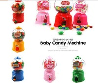 Hot sale lovely Adorable korea Children Candy machine saving pot Money box mini piggy bank free shipping