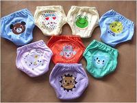 4 LAYERS WATERPROOF BABY  TRAINING PANTS INFANT LEARNING PANTS   UNDERWEAR BABY PANTIES 20PCS/LOT