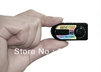 Free shipping Q5 Mini DVR HD 720P thumb DC Digital Camera Video Recorder Motion Detection 1280 * 720P car video recorder