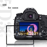 Professional LCD Optical Screen Protector Glass for Canon EOS 5D Mark III 5D3 MP Digital SLR Camera w/ Retail Packaging