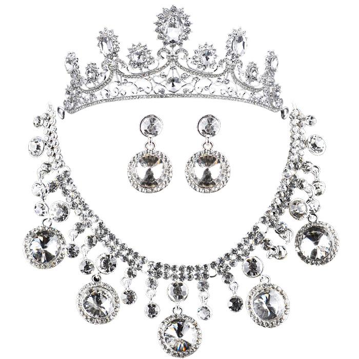 Accessories luxury accessories the bride accessories marriage accessories sparkling luxury piece set gift box set