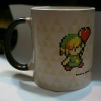 Lynk link the legend of Zelda cartoon milk coffee tea home office mug cup drinkware