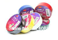 FREE SHIPPING 5 PCs Electrical PVC Insulation Insulating Tape 3M 1.8cmx10m