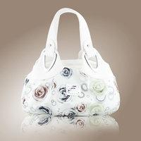 2014 New Fashion Women Desigual Printing Handbag Satchel Shoulder PU Leather Messenger Cute Girl High Quality White handbags