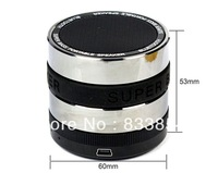 Mini Camera Lens Portable Hands-free Wireless Stereo Bluetooth Speaker For Phone tablet computer With Micro SD TF card slot