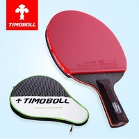 free shiping TIMO BOLL TABLE TENNIS RACKET 8 star Ping Pong rackets PADDLE Pimples In pen-holding style handshake grip