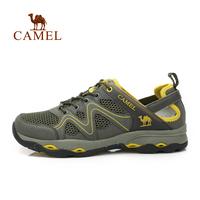 Camel outdoor 2014 Men outdoor walking shoes gauze breathable outdoor shoes a412303003