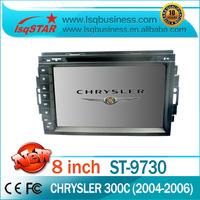Car radio gps dvd playerfor chrysler 300C(2004-2006) with video radio bluetooth ipod USB SD slots