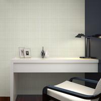 Wallpaper filament non-woven plain solid color plaid wallpaper tv background wall