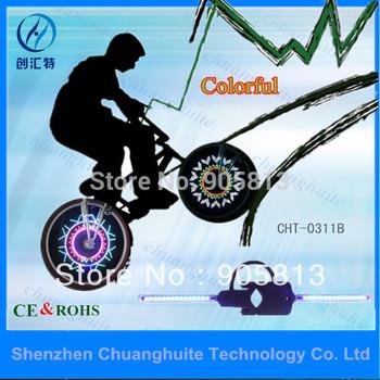 2014 новый программируемый из светодиодов части ( красочные ) / красочные обезьяна свет велосипед свет / велосипед фары