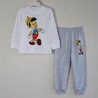 new 2014 1piece Retail 100% cotton Sizes: 2T - 3T - 4T - 5T - 6T - 7T suit for sports tracksuit children suit sports