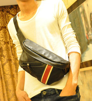 2014 chest pack small casual messenger male shoulder bag trend of the satanisms free shipping