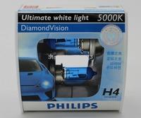 Orignal diamond vision 5000k H4 car halogen bulb car lights headlight HOT SALE!!