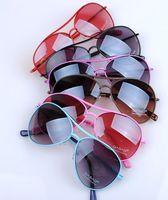 Kids Aviator Sunglasses Children Accessories Eye Glasses Oculos Shades Fashion Summer For Boys Girls Sun Protection Wholesale