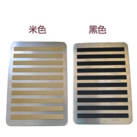 2014 NEW Car mats foot pedal slip-resistant pedal stainless steel metal pedal